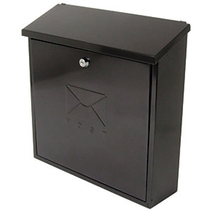 Image of Sterling Contemporay Post Box - Black
