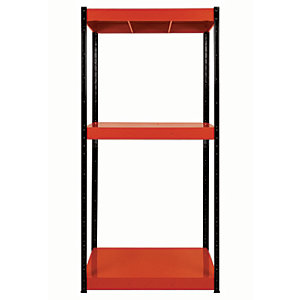 Image of Rb Boss Shelf Kit 3 Metal Shelves - 1800 x 900 x 300mm 500kg Udl