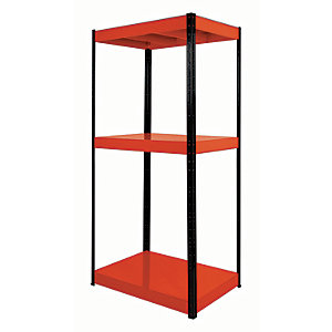 Image of Rb Boss Shelf Kit 3 Metal Shelves - 1800 x 900 x 400mm 500kg Udl