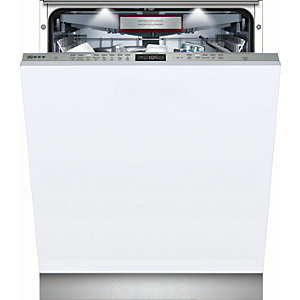 NEFF N70 S515T80D2G Integrated Dishwasher in Stainless Steel