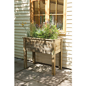 Forest Garden Bamburgh Planter Table 870mm x 1m