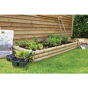 Image of Forest Garden Bed Builder Pack - 410mm x 2m