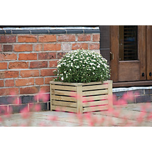 Image of Rowlinson Wooden Planter - 300 x 450 x 450mm