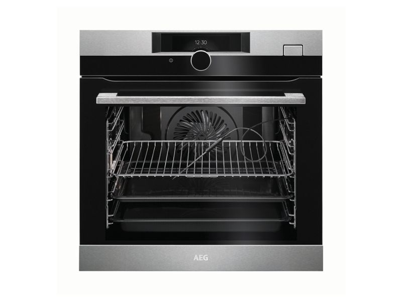 AEG Steam Boost Single Electric Stainless Steel Steam Oven