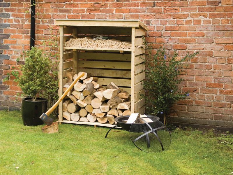 Rowlinson 4 X 2 ft Log Store