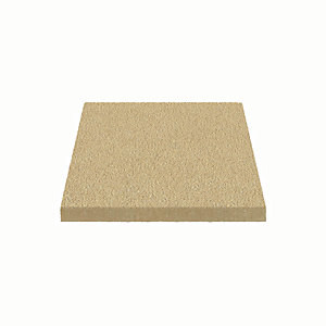 Marshalls Utility Textured Buff Paving Slab 450 x 450 x 32 mm - 12.96m2 pack