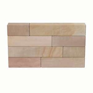 Marshalls Fairstone Sawn Versuro Smooth Coping Stone - Autumn Bronze 500 x 136 x 50mm Pack of 50