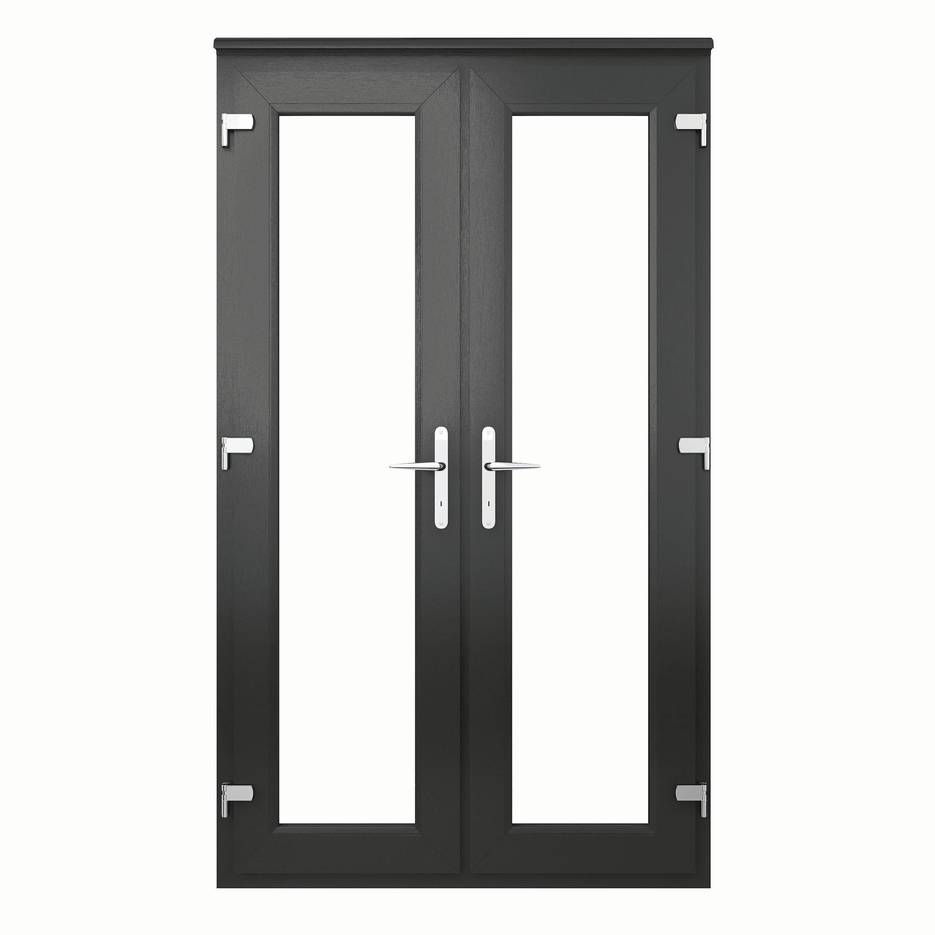 Euramax U Pvc French Door Outwards Opening by Wickes