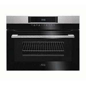 Image of AEG CombiQuick 1000W Microwave & Compact Oven KMK761000M