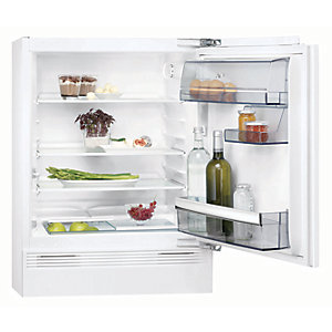 AEG SKB5821VAF Built Under Larder Fridge in White