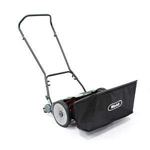 Webb H18 46cm Side Wheel Push Lawnmower