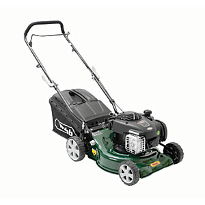 Image of WEBB 42cm 2 in 1 Push Lawnmower