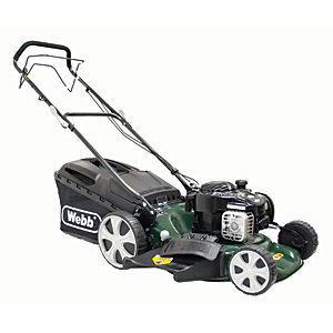 WEBB Supreme R18HW Hi-Wheel Lawnmower