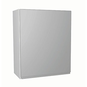 Wickes Madison Grey Gloss Handleless Wall Unit - 600mm