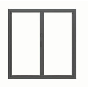 Image of Jci Aluminium Bi-fold Door Set Grey Left Opening 2090 x 1790mm
