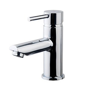 Wickes Mirang Lever Basin Mixer Tap - Chrome