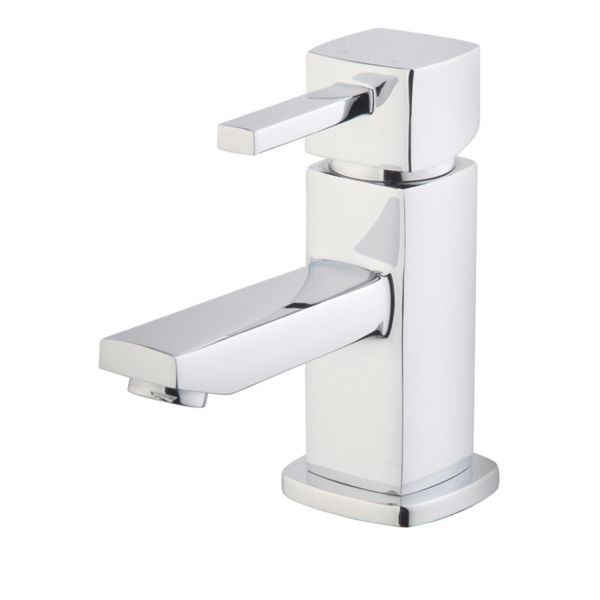 Wickes Yaran Chrome Compact Basin Mixer Tap