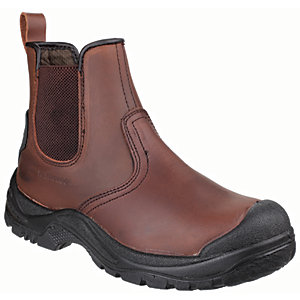 Image of Amblers Safety AS200 Skiddaw Dealer Safety Boot - Brown Size 9