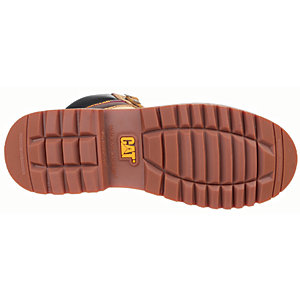 Image of Caterpillar Cat Electric 6in Safety Boot - Honey Size 6