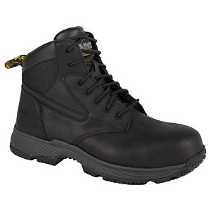 Image of Dr. Martens Corvid Safety Boot - Black Size 6