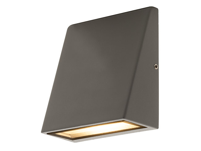 Luceco LED Exterior Wedge Wall Light 3W