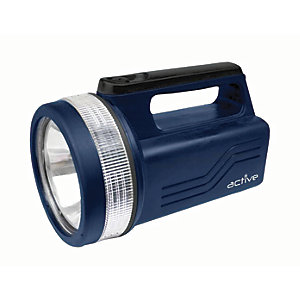 Image of Active AP Torches A50923 LED Blue Lantern Spotlight with Battery - 118lm
