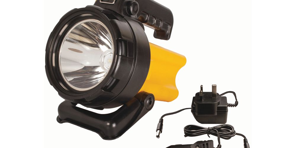 Active AP Torches A52309 LED Rechargeable Spotlight with Battery - 150lm
