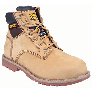 Image of Caterpillar Cat Electric 6in Safety Boot - Honey Size 8