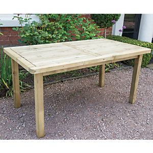 Forest Garden Rosedene Table - 1.6m