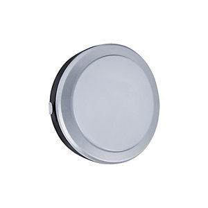 Image of Briticent Ispot Orbit LED Black Round Bulkhead Floodlight - 10W