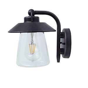 Image of Lutec Cate Garden Wall Light - 60W