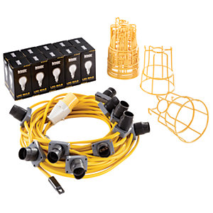 Defender LED Festoon Light Kit 22m - 110V
