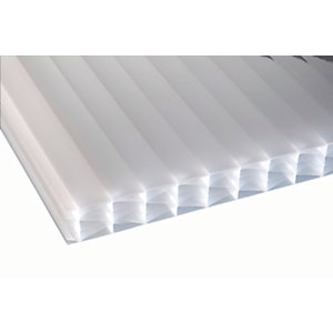 25mm Opal Multiwall Polycarbonate Sheet - 4000 x 1050mm