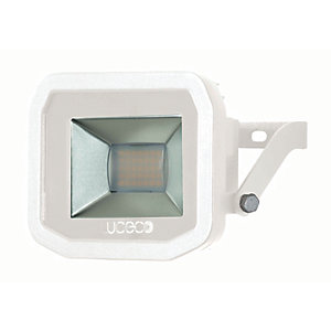 Image of Luceco Guardian Slimline White Floodlight - 22W