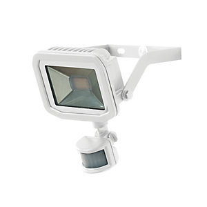 Image of Luceco Guardian Slimline PIR Floodlight IP65 White 1800 Lumens 22W