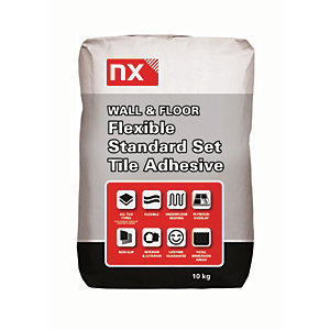 Image of Norcros Universal Standard Setting Tile Adhesive White 10kg