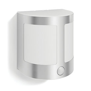 Philips Parrot Inox LED Wall Lantern with PIR - 3.5W