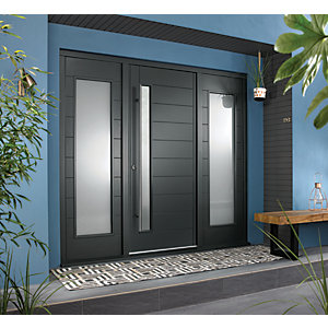 Image of JCI Ultimate Door Frame with Double Side Light Grey - 610mm