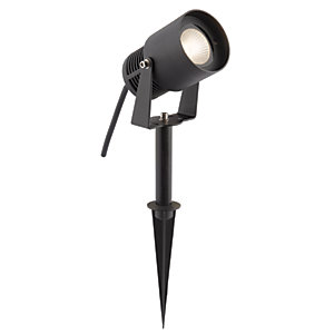 Elise LED Black Spike Light Modern - 6W