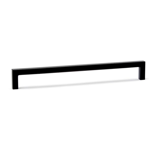Wickes Matt Black Square Pull Handle - 128mm