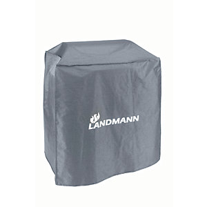 Image of Landmann Triton 3.0 Waterproof BBQ Cover - Grey