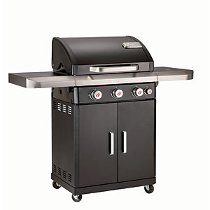 Image of Landmann 3.1 Rexon PTS 4 Burner BBQ - Black