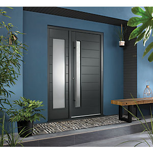 Image of JCI Ultimate Door Frame with Single Side Light Grey 1981 x 610mm