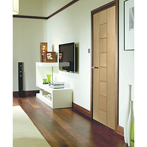 XL Joinery Messina Internal Oak Fully Finished Door - 1981 x 686mm