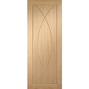 XL Joinery Pesaro Oak Patterned Pre Finished Internal Door - 1981mm