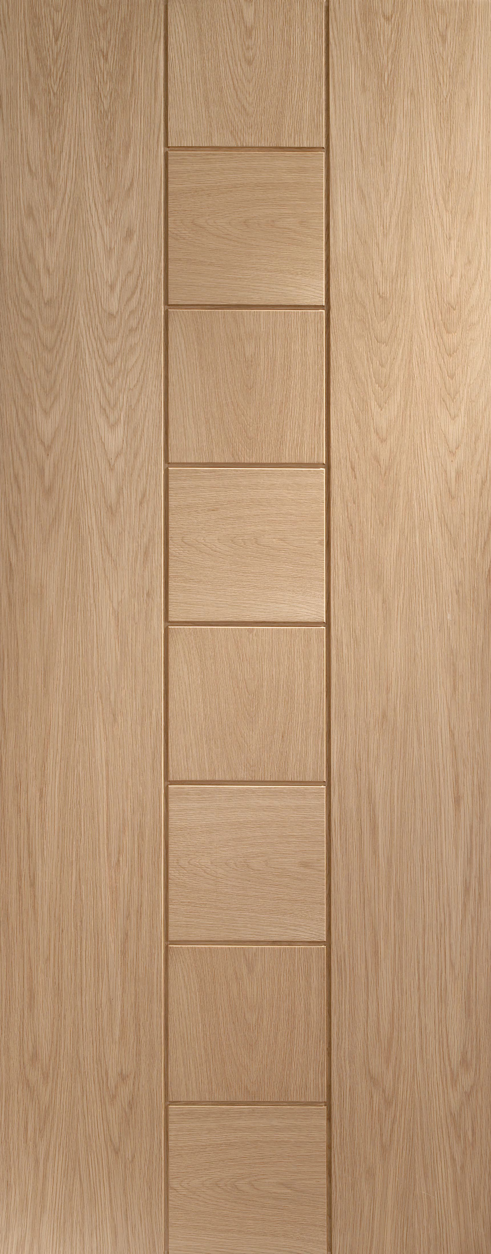 Xl Joinery Messina Oak 8 Panel Internal Door   1981mm X 762mm by Wickes
