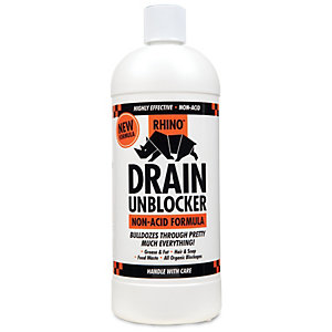 Image of Rhino Non Acidic Drain Unblocker - 1L