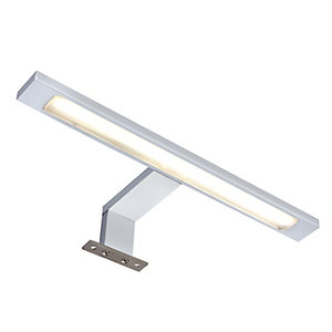 Wickes Neptune Cob LED Cool White Over Mirror T-bar Light with Driver - 12W