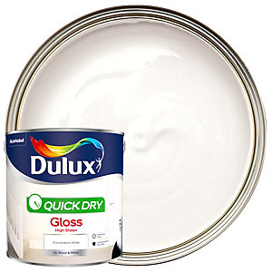 Dulux Quick Dry Gloss Pure Brilliant White 2.5L
