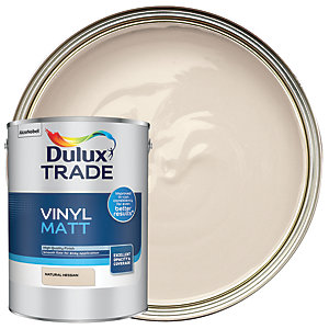 Dulux Trade Vinyl Matt Emulsion Paint - Natural Hessian 5L